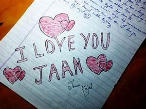 Desi Hindi Love Letter – Letter Simple Example