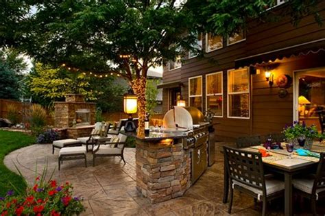 Landscaped Backyards Pictures by Landscaping Ideas Denver Landscaping Network