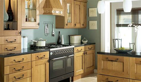 Traditional Oak Finish Complete Kitchen Rigid Prebuilt