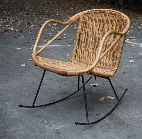 There are 561 mid century rattan chair for sale on etsy, and they cost $389.77 on average. Mid Century Danish Modern Style Wicker Rattan Rocking ...