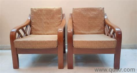 You can choose a wooden sofa set which is comfortable and elegant at the durable wooden sofa online based on space. Pure heavy, best wooden sofa set with 3+1+1 seatings, with ...