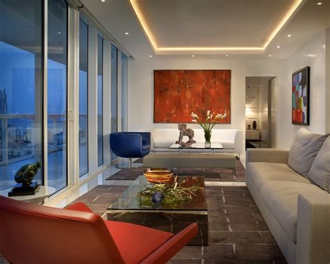 tray ceiling recessed lights living room contemporary with miami decorative pillows