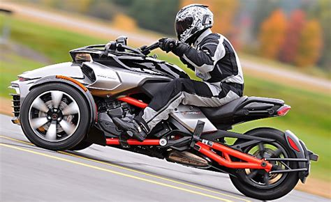 2015 Can-am Spyder F3 Review