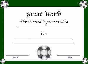 Soccer award certificate templates free militaryalicious soccer award certificate templates free yelopaper Gallery