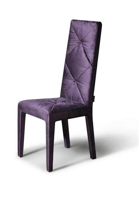 soft silky feel purple dining chair  high comfortable