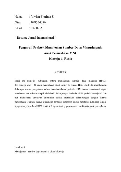 Contoh Review Jurnal Internasional Matematika - Viral News Top