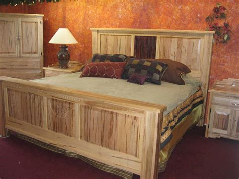 wormy maple bed   bedroom southwest interiors