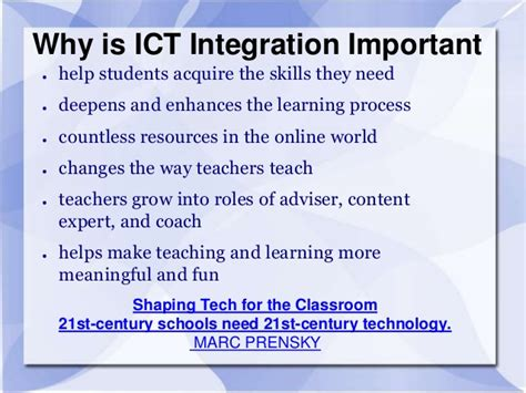 Ict For Education  Successful Integration With Open Education Resour…