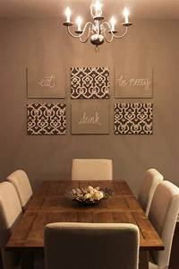 how to use blank walls in room decoration With wall decor for dining room