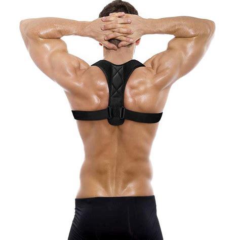 2021 Posture Corrector & Back Shoulder Support Clavicle ...