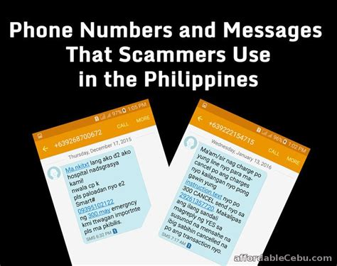 report fraud phone number report phone numbers that scammers use in the philippines