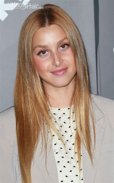 whitney port hairstyles  whitney port hair haircuts