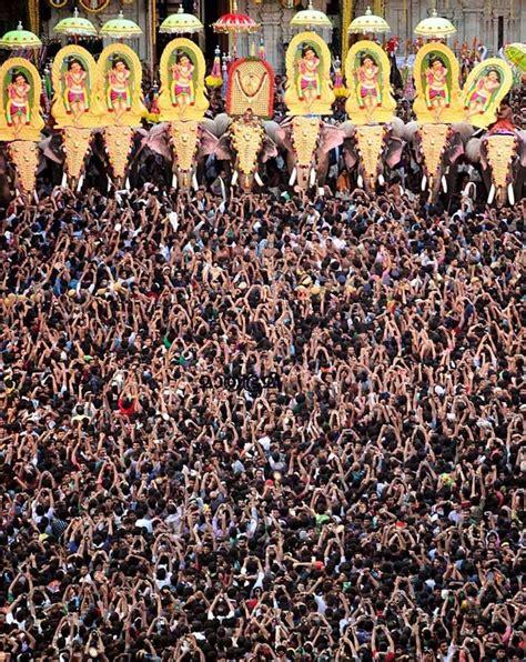 thrissur pooram temple festival kerala india india