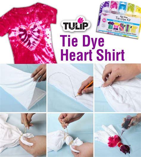 Tie Dye Heart Shirt In 6 Easy Steps Kids Fashion Ideas