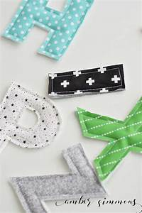 fabric alphabet with the cricut maker With machine to cut fabric letters