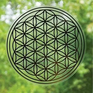Blume Des Lebens Fensterbild : fensterbild blume des lebens gro ~ Indierocktalk.com Haus und Dekorationen