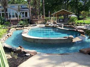 Backyard inground pool designs 1000 ideas about semi for Inground swimming pool designs ideas