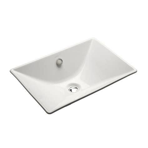 Kohler Reve Undermount Sink by Kohler Reve Fireclay Vessel Sink In White With Overflow