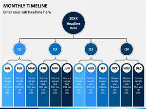 Monthly Timeline Powerpoint Template Sketchbubble