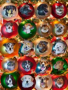 Hand-painted, Christmas, Ornaments