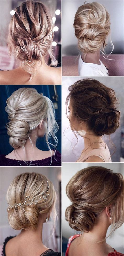 stunning  bun updo wedding hairstyles