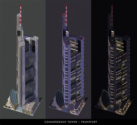 Commerzbank Tower Simcity 4 Buildings Simtropolis
