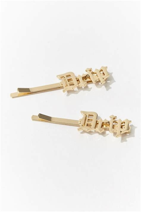 Bobby Hair Pin Set drip bobby pin set summer hair accessories popsugar