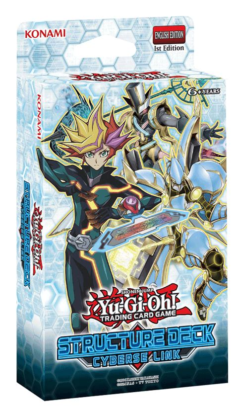 yu gi oh structure deck cyberse link and spirit warriors