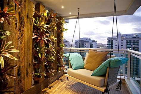 ideen zum thema schmalen balkon gestalten und einrichten