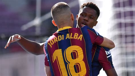 Ansu Fati becomes youngest Clasico scorer in 21st century ...