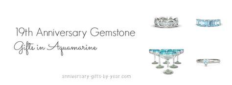anniversary gemstone gifts