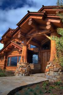 Beautiful Log Cabin Home