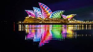 wallpaper opera house sydney australia 4k