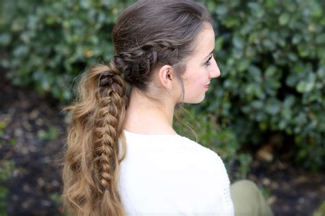 Ponytail Braid Hairstyles For by The Viking Braid Ponytail Hairstyles For Sports