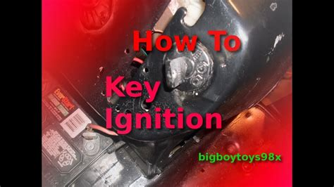 wire  lawn mower  key igniton youtube