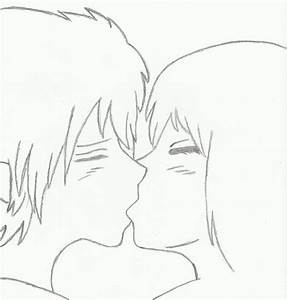 Older Anime Couple Kissing by AkatSakuForever15 on DeviantArt