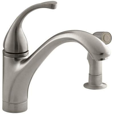Kohler Forte Kitchen Faucet Leaking by Kohler Forte Single Handle Standard Kitchen Faucet With