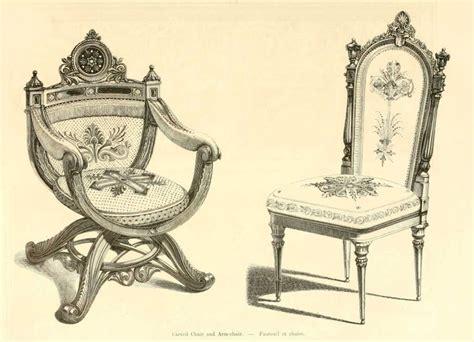 chaise style baroque img dessins meubles mobilier fauteuil et chaise jpg