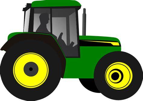 tractor greenyellow clip art  clkercom vector clip