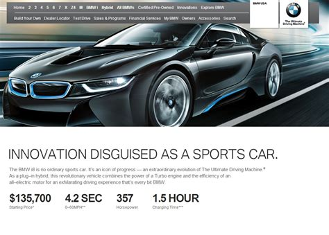 Bmw I8 Specs Updated On Bmwusa, Dropping 0-60 To 4.2 Seconds