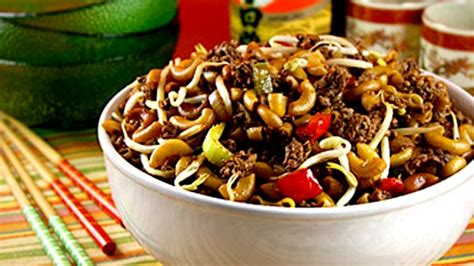 chinois pour la cuisine macaroni chinois