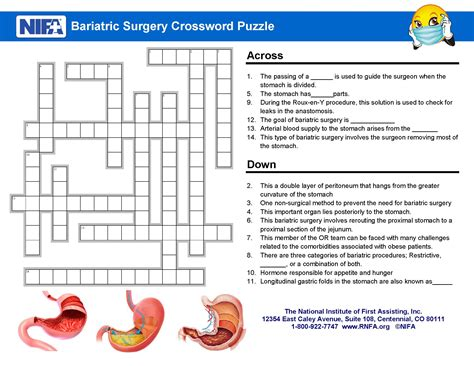 Bariatric Surgery Crossword Clues
