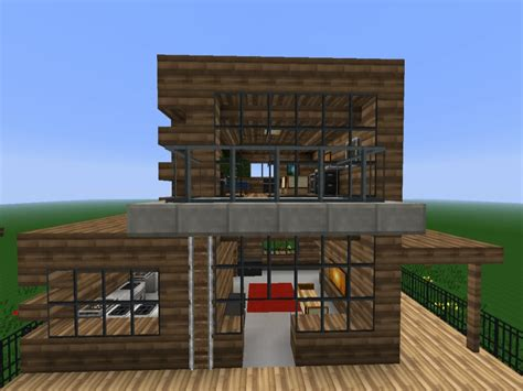 modern wooden house minecraft modern wood house small wooden house design treesranchcom