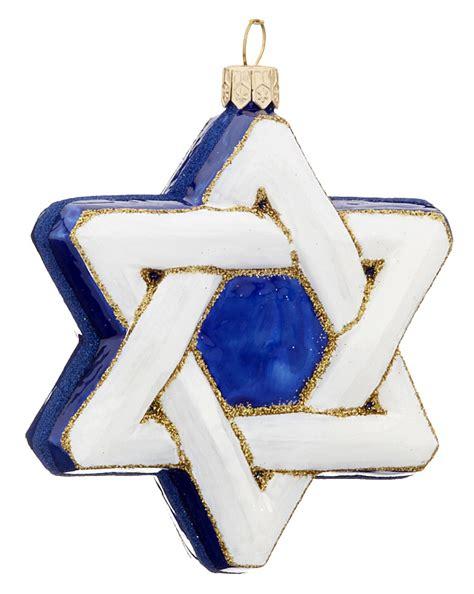 star of david christmas ornament religious