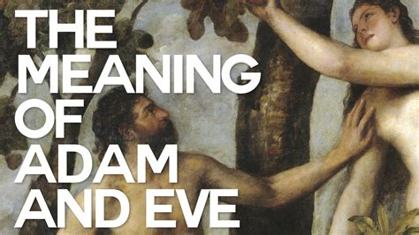 The Meaning Of Adam And Eve  Swedenborg And Life Youtube