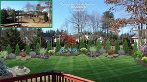 Backyard: charming backyard landscape designs 3d Backyard