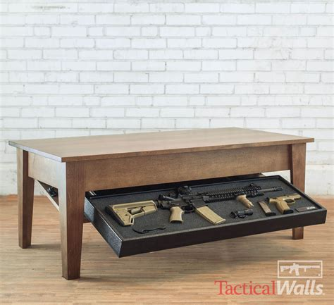 diversion safe w rfid lock tactical walls coffee table Shelf