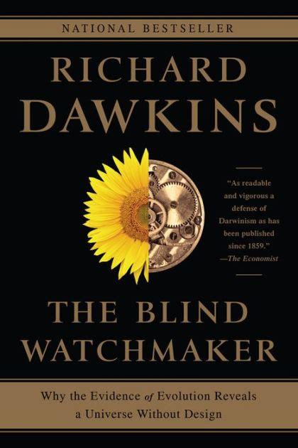 the blind watchmaker the blind watchmaker why the evidence of evolution