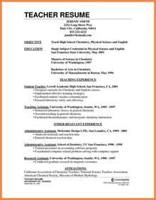 How To Make A Teaching Resume how to prepare cv for teachers