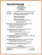 How To Prepare Cv For Teachers Job Teacher Resume Example Free Templates Collection Resume For Teachers Best Template Collection Fresher Teacher Resume Best Letter Sample